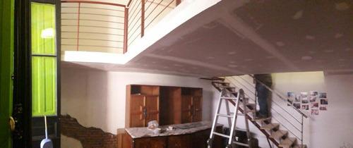 entrepisos metálicos y steel frame escaleras barandas