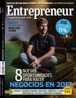 entrepreneur - 12/2016.  revista de emprendimiento