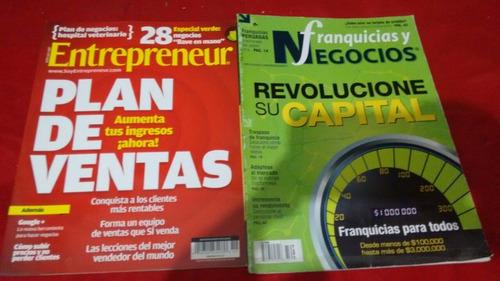 entrepreneur mexico, lote de revistas.