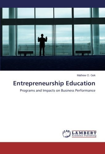 entrepreneurship education; gek mathew o.