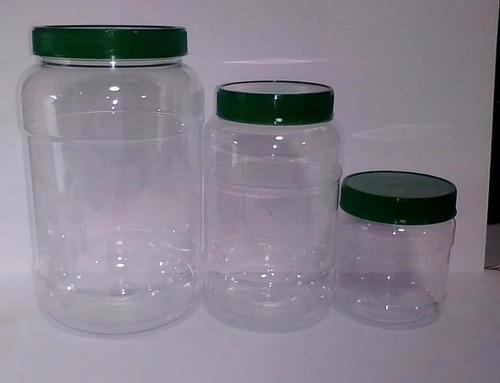 envase bomboneras plásticas cuadradas 300cc