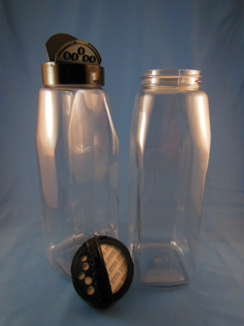 Envase De Plastico Especiero De 500ml Y 1100ml Con Tapa ...