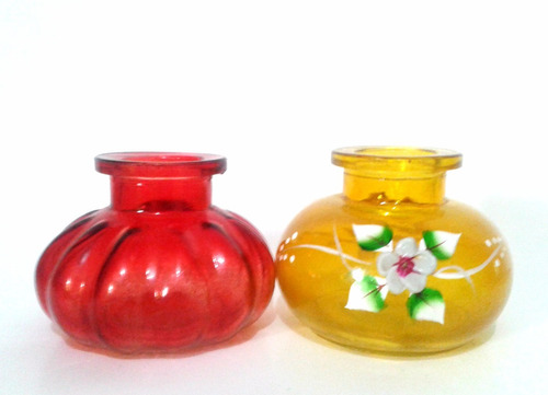 envase frasco base de arguile narguile pequeño respuesto
