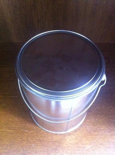 envase hojalata x 4 litros con tapa x 24 unidades