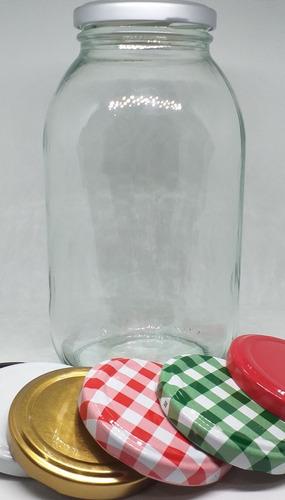 envase mayonesa 750cc vidrio (tarro de 750cc para alimentos)