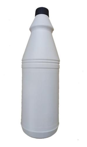 envase plástico 1 litro cloro desinfectante químicos
