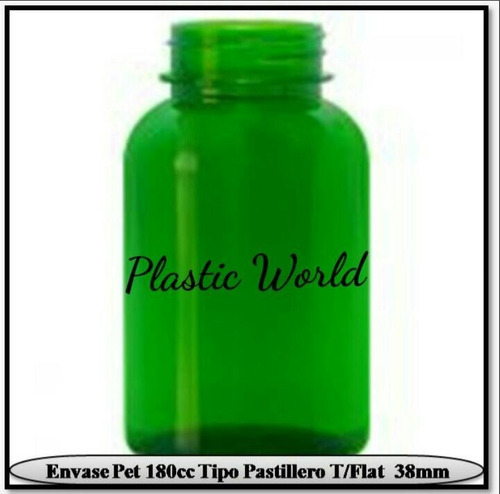 envase plástico pet 500cc ml tapa rosca (medio litro)