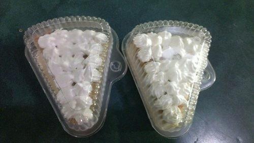 envase plástico triangular para tortas precio viejo alto