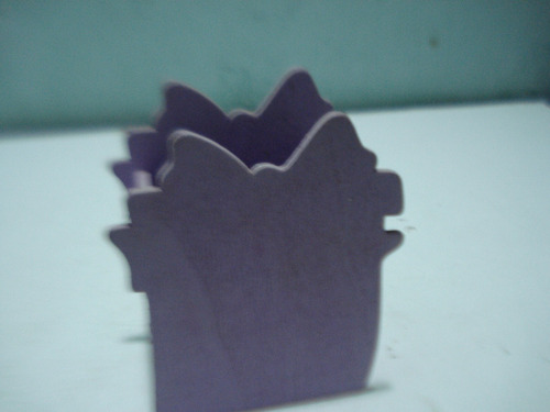 envase recipiente o guarda joyas en madera decorado( usado)