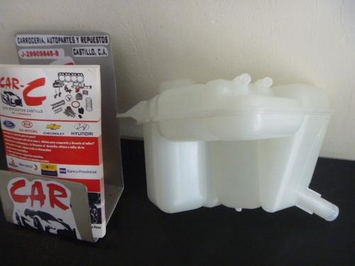 envase reservorio agua ford fiesta 2 tubos y 1 tubo