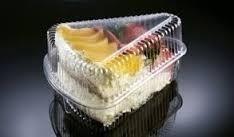envase triangular bajo para tortas dulces maxiplas