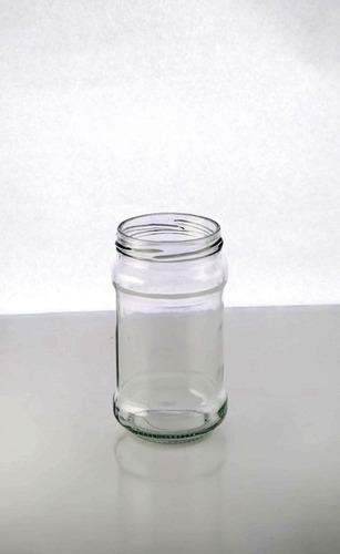 envases de vidrio para miel o mermelada.