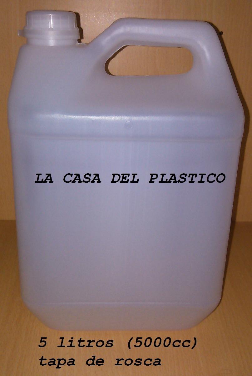 Envases garrafas plastico de 5 litros nuevos bidones for Bidones de 1000 litros
