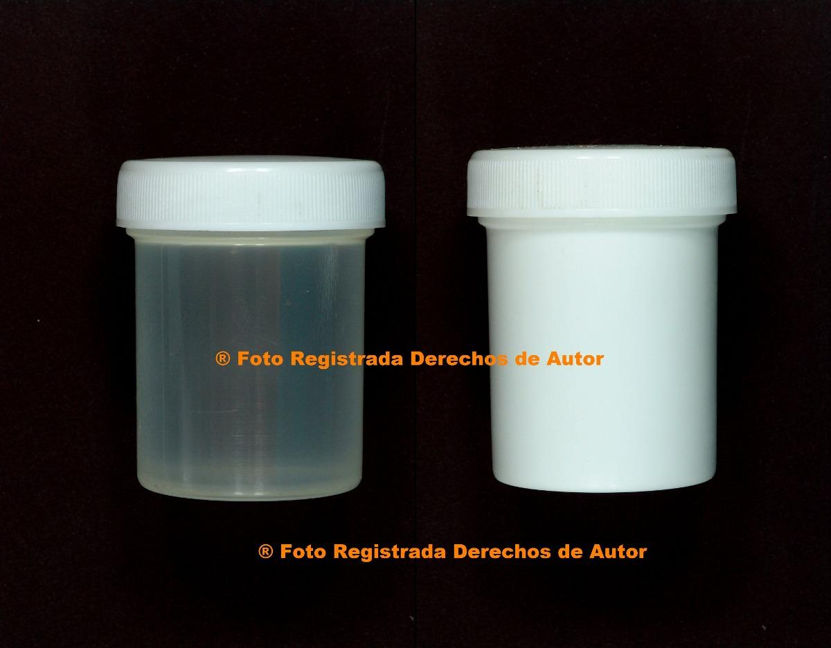 Envases Plásticos 60cc 2 Onzas Tipo Tarro Con Tapa De