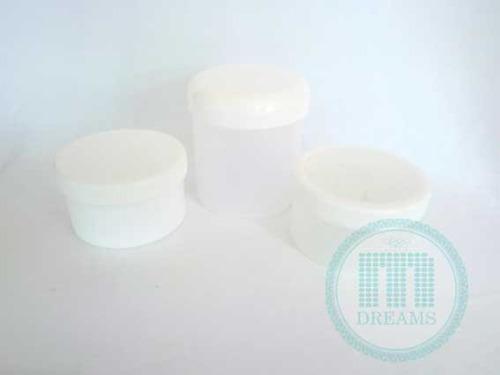 envases plásticos tipo tarro de 8cc hasta 500cc (por bulto)