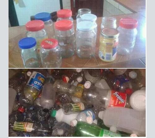 envases plasticos y de vidrio