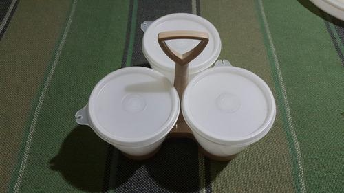 envases tuperware para salsas o pasapalos