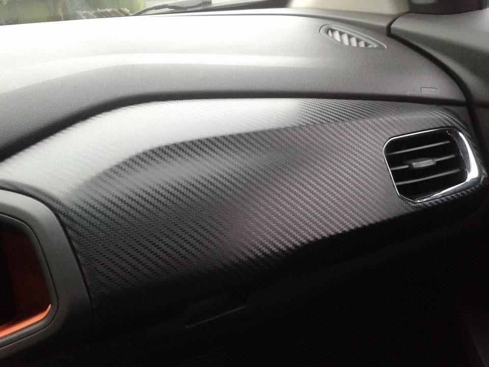 Armario Lavabo Baño ~ Envelopamento Adesivo Fibra De Carbono Cinza Grafite