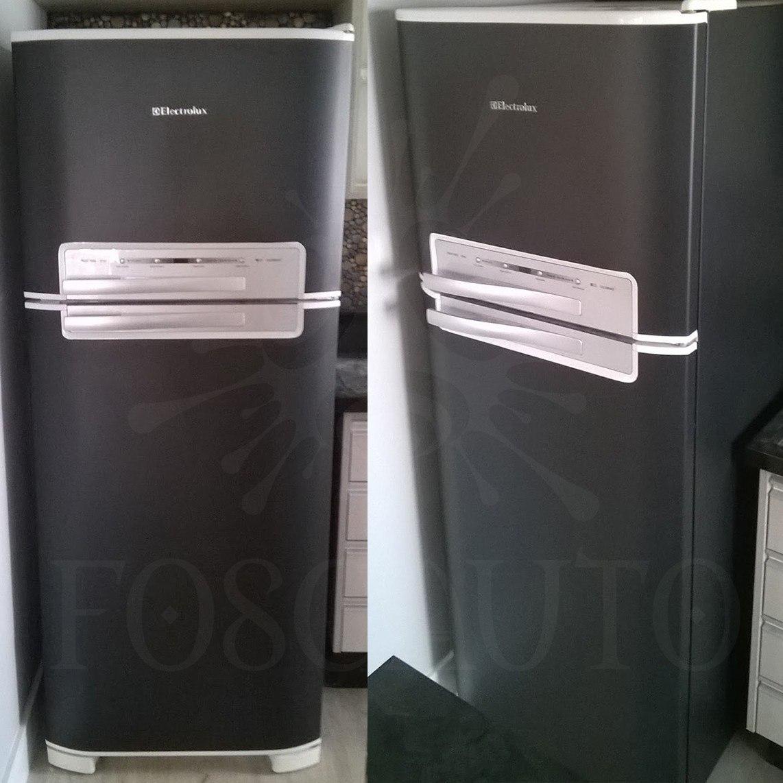 Armario Planejado Cozinha ~ Adesivo Envelopamento Geladeira Porta Móveis Vinil 6m X 1m R$ 120,00 em Mercado Livre