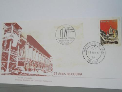 envelope - 25 anos da cosipa - 1979