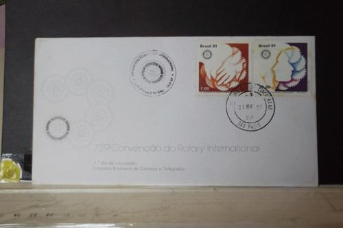 envelope 72º convenção do rotary internacional -1981
