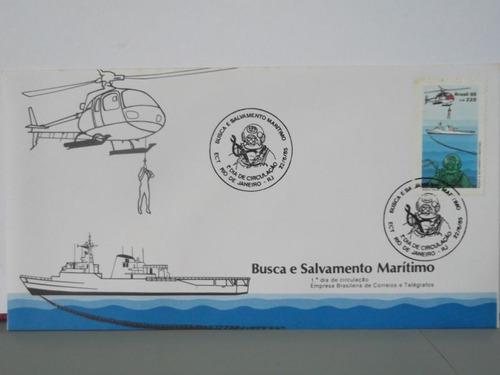 envelope - busca e salvamento marítimo - 1985