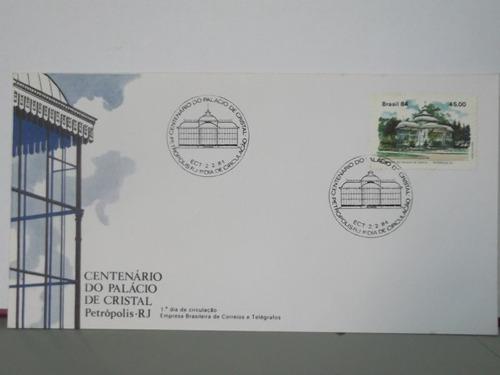 envelope - centenário do palácio de cristal - 1984