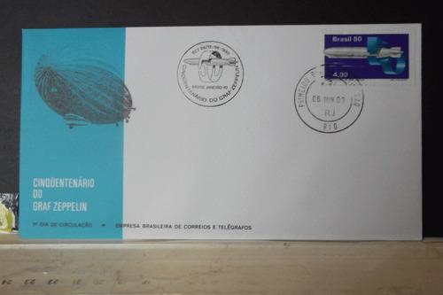 envelope - cinquentenário do graf zeppelin