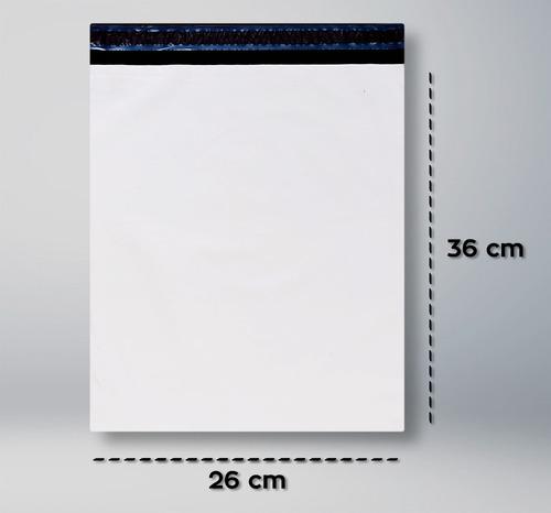 envelope de segurança com lacre - 26 cm x 36 cm - 100 und