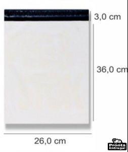 envelope de segurança - saco c/ lacre 26 x 36 500 und