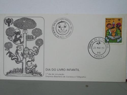 envelope - dia do livro infantil - 1979