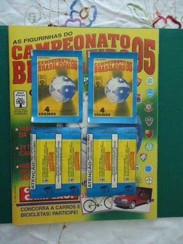 envelope figurinhas campeonato brasileiro 1995 lacrado novo