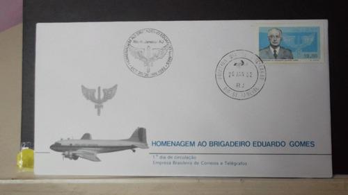 envelope - homenagem ao brigadeiro eduardo gomes 1982