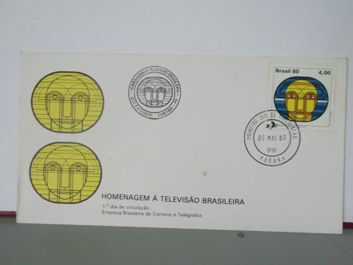 envelope- homenagem à televisão brasileira