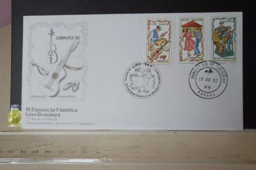envelope ix exposição filatélica luso brasileira