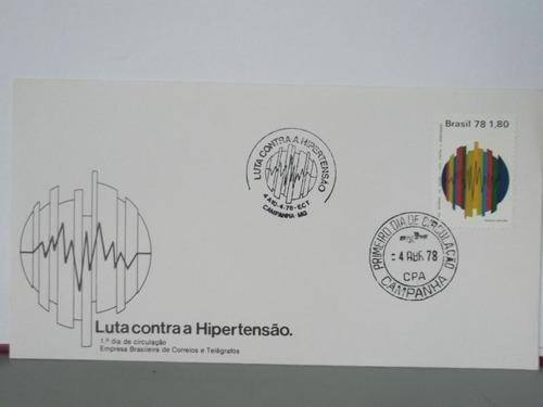 envelope- luta contra a hipertensão - 1978