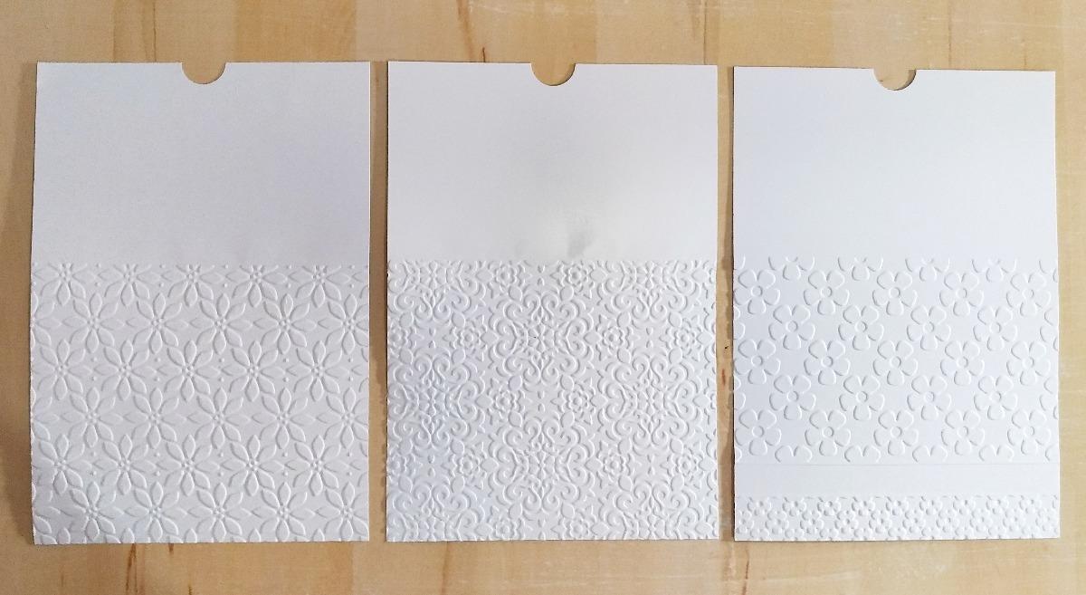 376a42e519d Envelope Luva Casamento Festa Relevo Seco E Laço Chanel - R  3