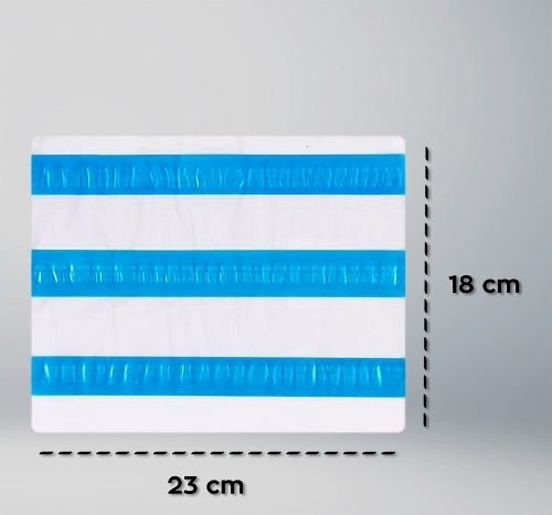 envelope plástico canguru danfe janela nfe  23x18 (500 und)