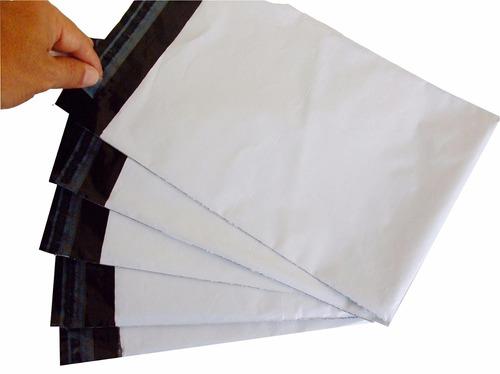 envelope plástico de segurança 45x35 com lacre p sedex 100un