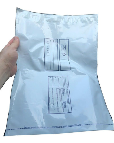 envelope plástico segurança 32x40 100un lacre sedex correios