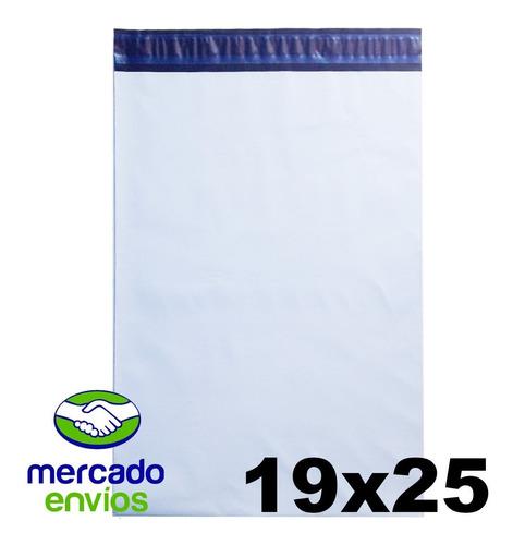 envelope plastico tipo correio com lacre 19x25 - c 1000 und