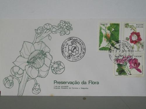 envelope - preservação da flora - 1986