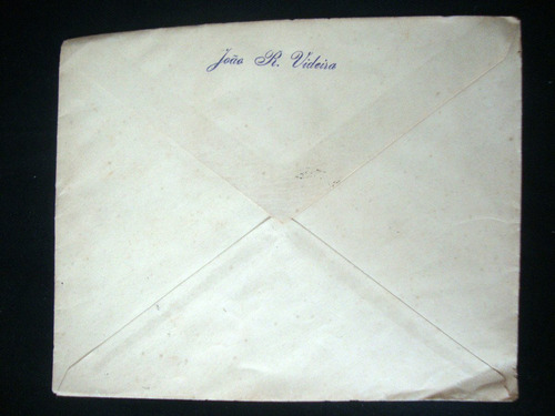 envelope selo antigo semana da asa 1947