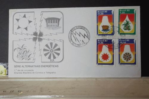 envelope - série alternativas energéticas 1980