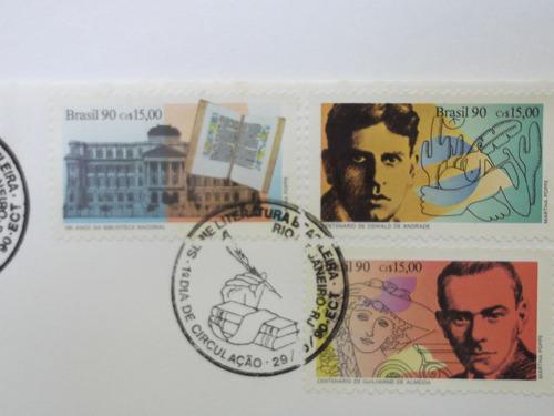 envelope - série literatura brasileira - 1990