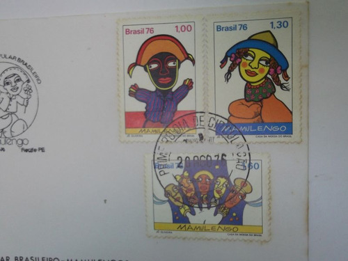 envelope - série teatro popular brasileiro-mamulengos 1976