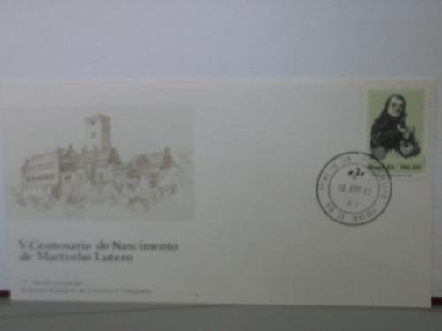 envelope - v centenário do nascimento de martinho lutero