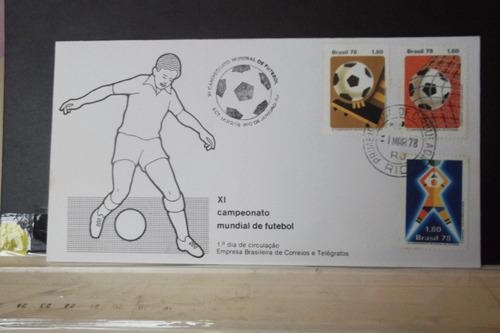 envelope  x i campeonato mundial de futebol 1978