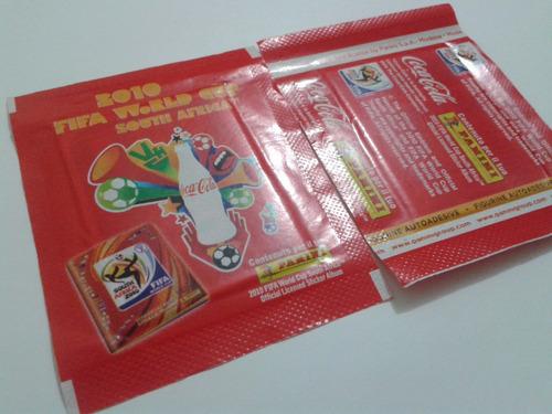 envelopes copa 2010 - coca-cola - versão italia