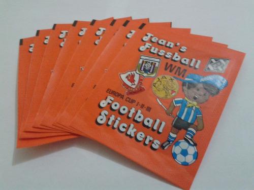 envelopes importados jean's fussball collection argentina 78